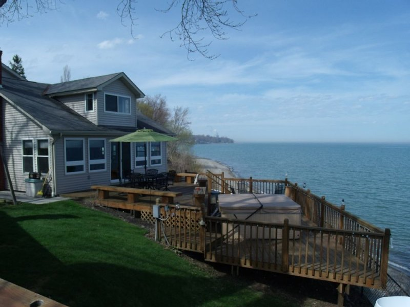Lakefront Property, Family Friendly and Pet Friendly, holiday rental in Lake County