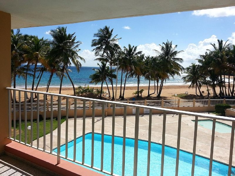 Breath-Taking Beach View Condo, holiday rental in Luquillo