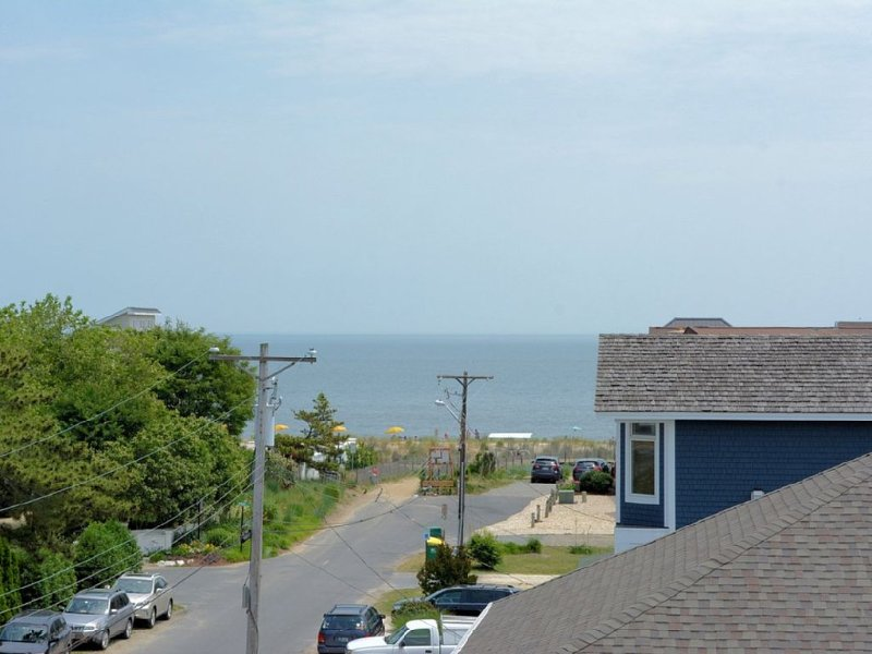 Ocean view from the rooftop deck!