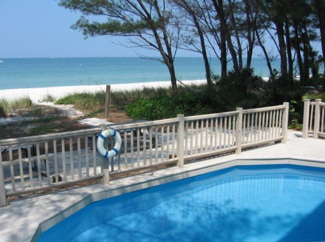On the Sand with pool - Sunset Beach, Treasure Island, Florida, vacation rental in Treasure Island