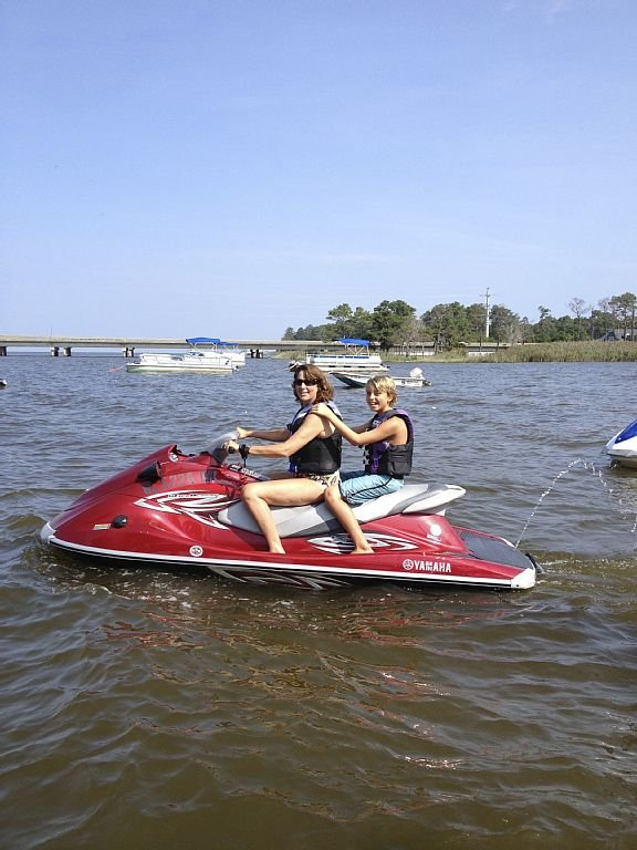 Jet ski fun in the sun!