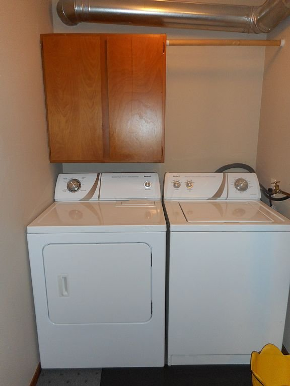 Full sized laundry facilities available -  we furnish the detergent.