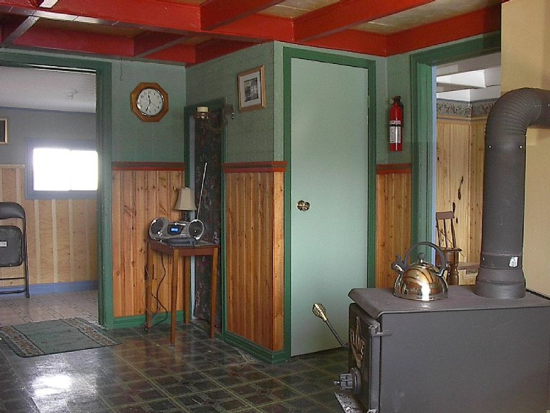 Kitchen and entrance way