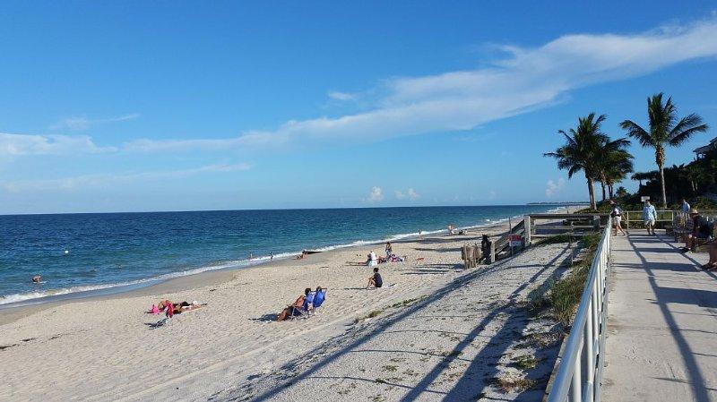 Beach & Boardwalk at Humiston Park
