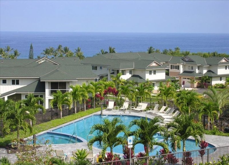 Awesome one of the very best!!!!  Unbeatable quiet location and great ocean view, alquiler de vacaciones en Keauhou