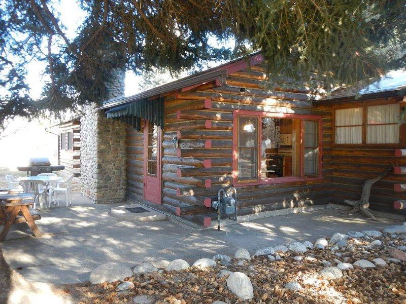 Log cabin with modern amenities, walking distance to town.  STR-006, location de vacances à Buena Vista