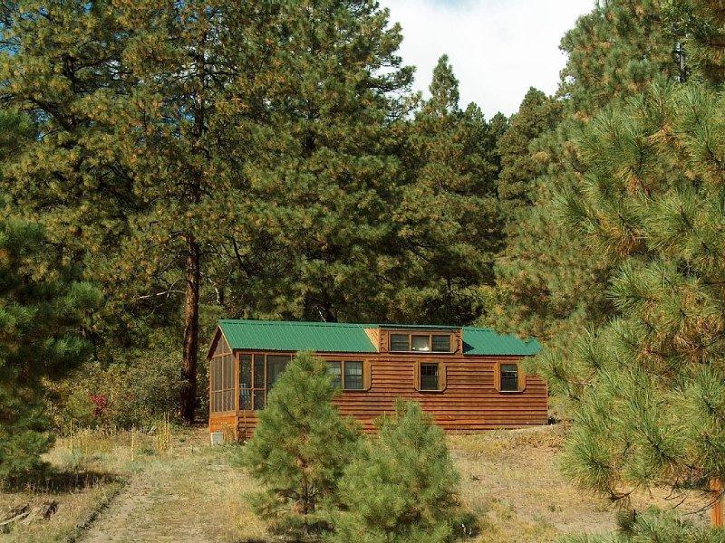 Comfortable Cabin in a quiet rural setting, alquiler de vacaciones en Bayfield