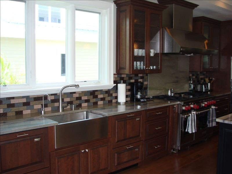 Dream kitchen with Wolf range, 2 ovens, 4 Dishwasher Dishdrawers, 2 microwaves