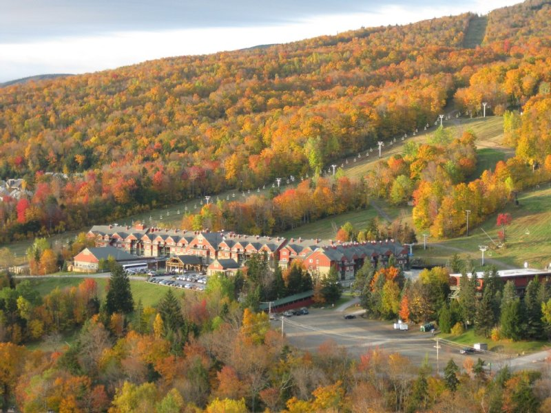 A crisp colorful mount snow fall makes for a great snowy winter!
