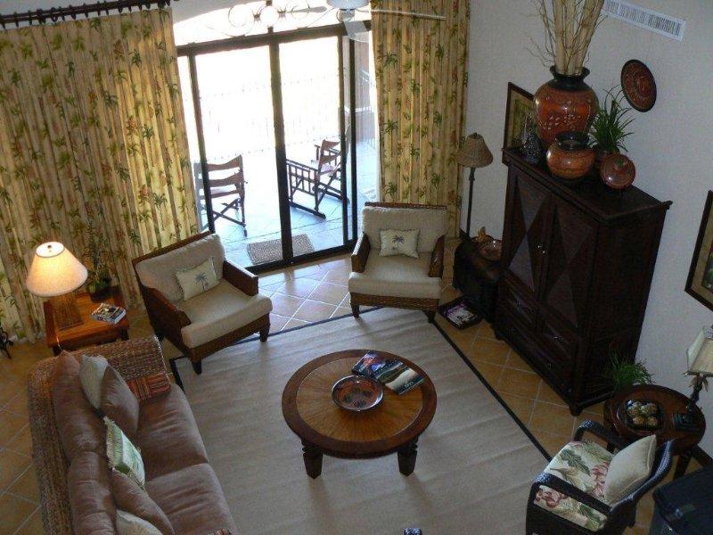 Costa Rica Condo - View From Loft of Family Room