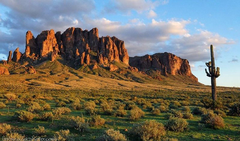 Superstition Mountains are just a short drive away!