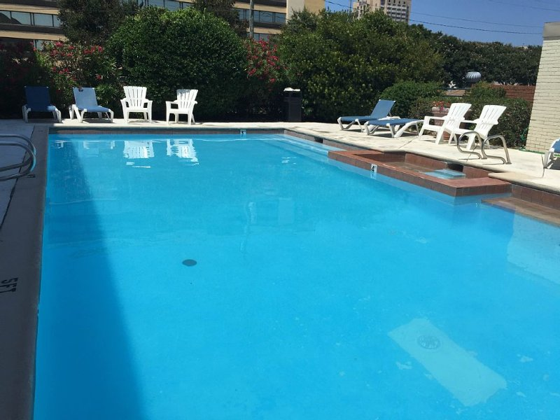 NICE PRIVATE POOL FOR GUESTS/RESIDENTS OF THE COMPLEX