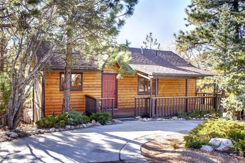 3 bedroom, 2 full baths, hot tub, pool table , 3 outdoor decks, wood fireplace, location de vacances à Big Bear Region