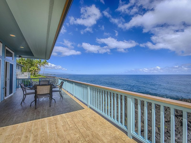 Spectacular Oceanfront Property, vacation rental in Kapoho