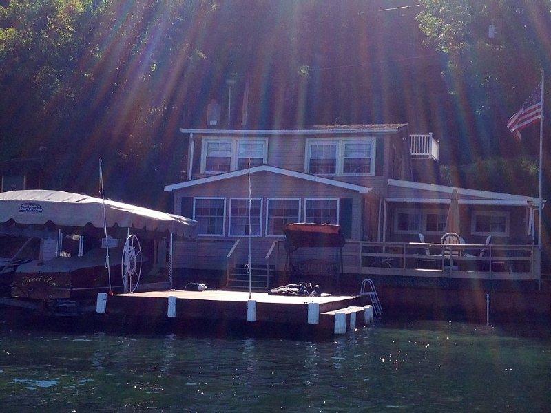 Waterfront, On Beautiful Keuka Lake, holiday rental in Wayne