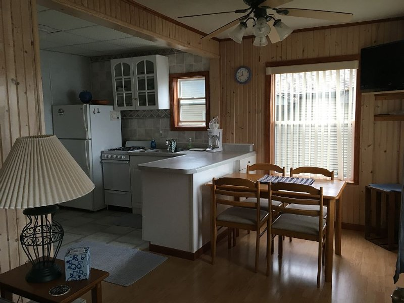 Lake James Waterfront Cabins. Private Dock. Best Views. Walk to restaurants&bars, location de vacances à Waterloo