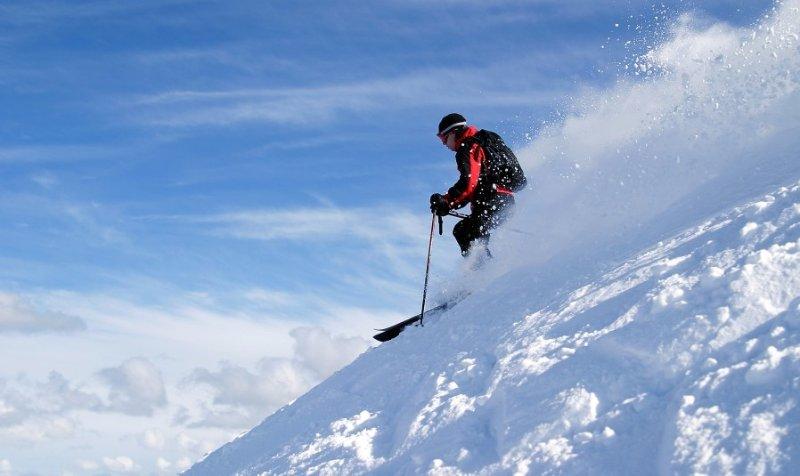 World-class skiing on Mammoth Mountain -great intermediate and beginner runs too