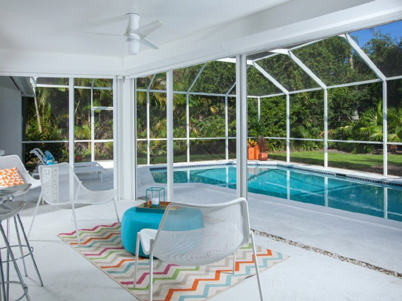 Sip a martini pool-side.  Enjoy the view of the lush foliage and total privacy.