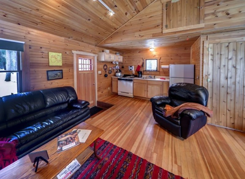 Isolated Charming Knotty Pine Cottage on 575 Acre Forest Preserve, casa vacanza a Port Jervis