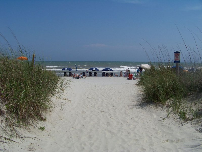 Life is always better at the beach.  Relax at our home away from home., holiday rental in North Myrtle Beach