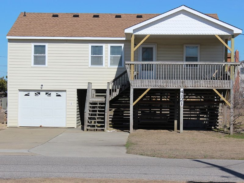 OceanView-300 Feet to Beach, alquiler vacacional en Kitty Hawk