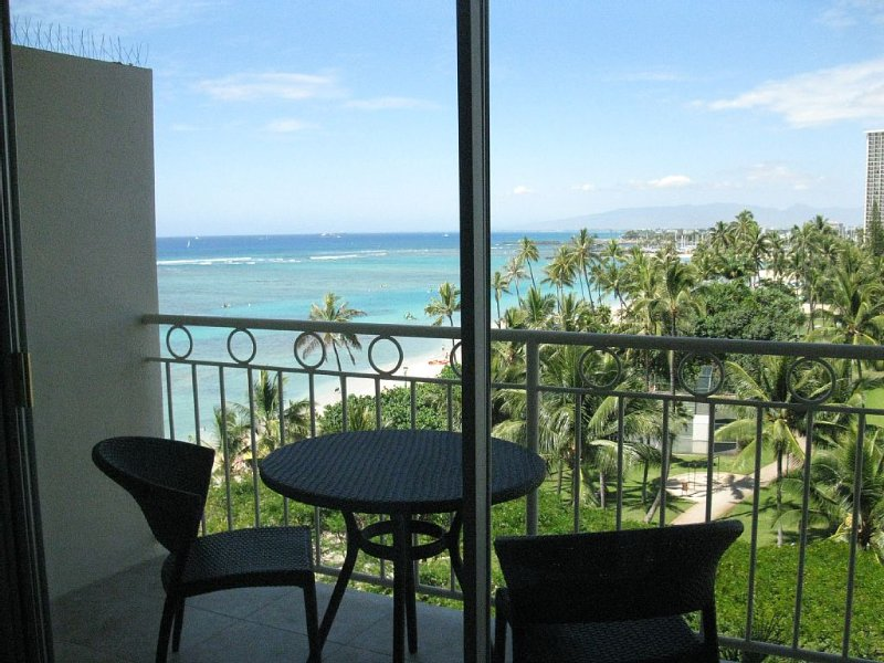Newly Renovated Ocean View Studio includes Pool and Fitness Center., vacation rental in Honolulu