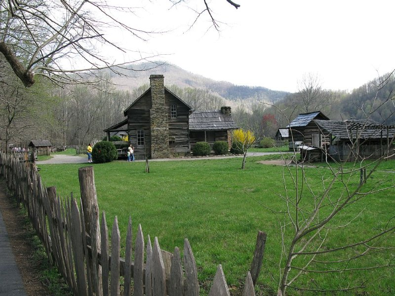 pioneer village at the National Park nearby
