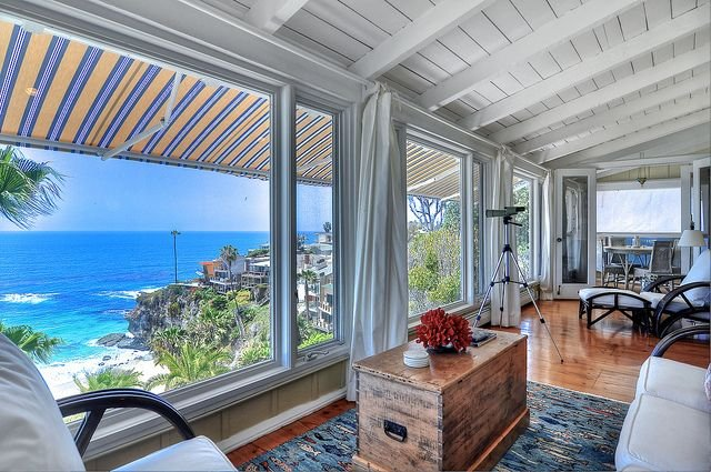 "Gated Oceanfront Home With ""Wow Factor"" Views And Its Own Private Beach, vacation rental in Laguna Beach"