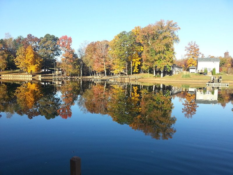 Fall View from the Dock