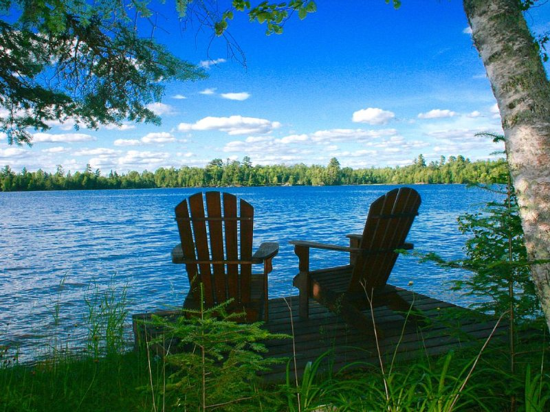 Charming Private Cottage on Lake Vermilion, holiday rental in Cook