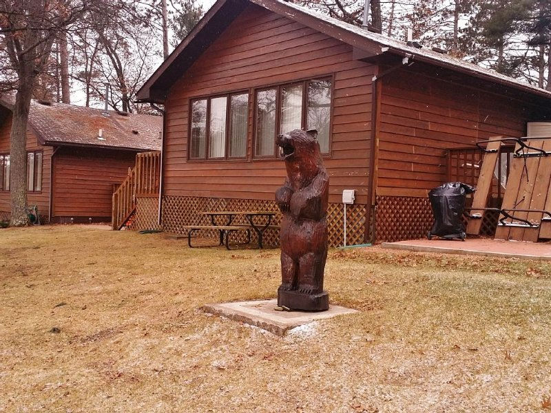 Lake Nokomis Breezy Bay Retreat- Tomahawk Wi - Newly remodeled, holiday rental in Harshaw