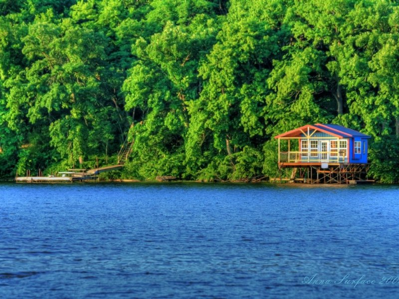 Woodward Cabin #2 with boat house, holiday rental in Maple Hill