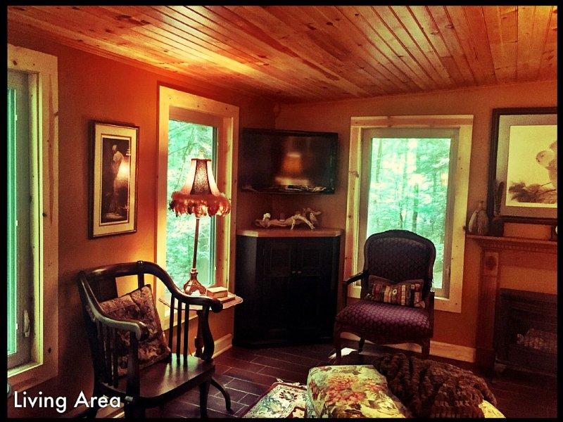 Robin's Hood Cabin, Fayetteville, WV, vacation rental in Mount Hope