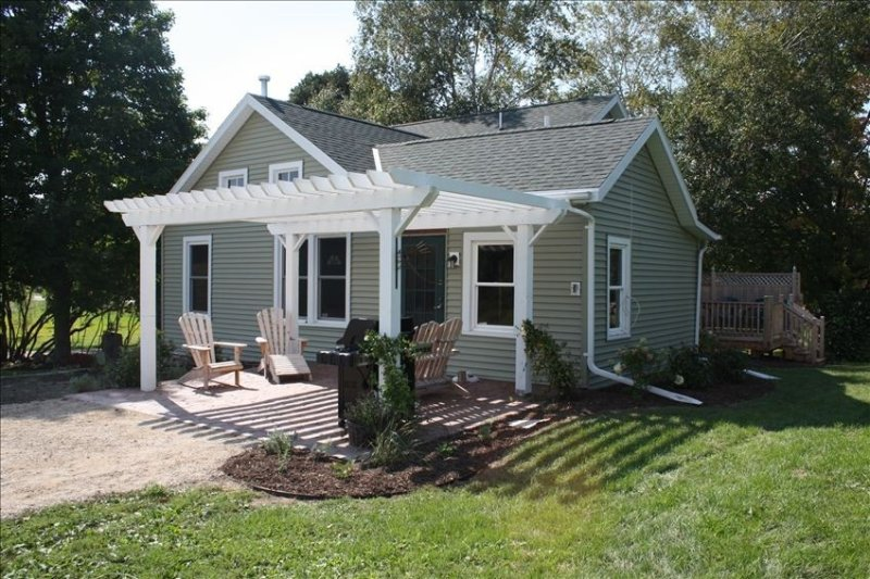 Two Creeks Farm in Green Lake, holiday rental in Marquette