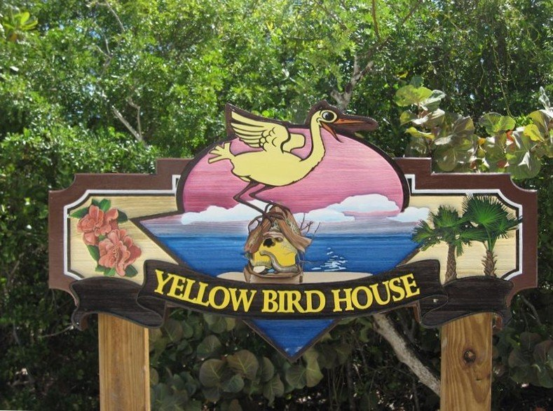 The old Yellow Bird Sign.