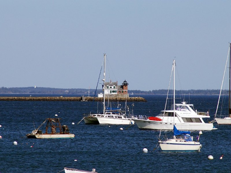 Rockland Breakwater Lighthouse-Walk the 1 mile breakwater out to the light.