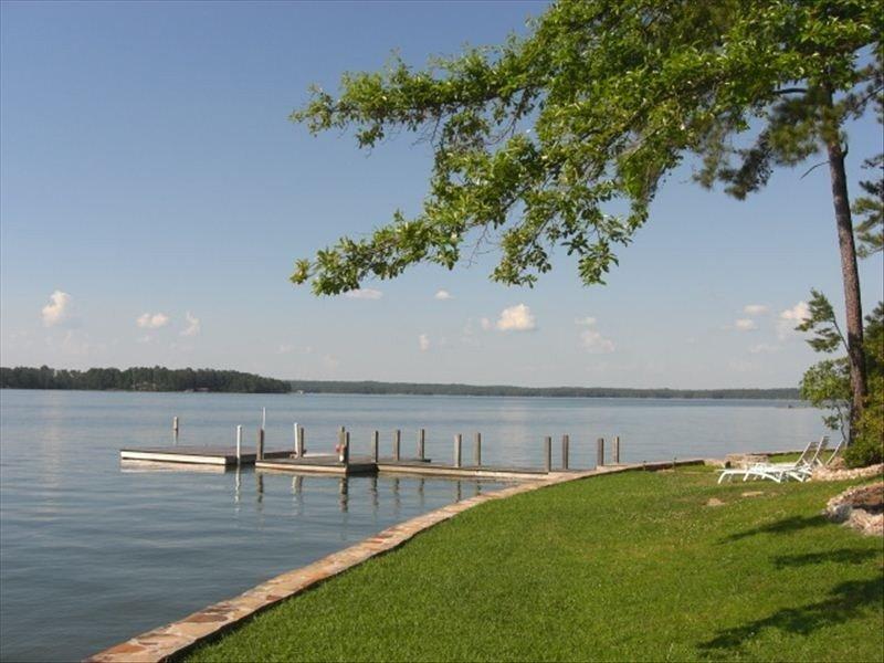 View toward big water - we always have deep clear water!