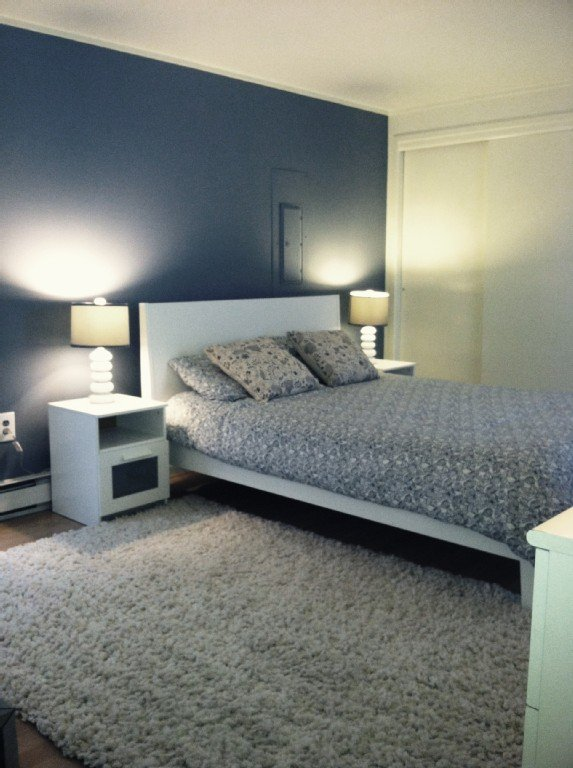 All new Master Bedroom (bed, mattress, tables, rugs, floor, paint, blinds)!