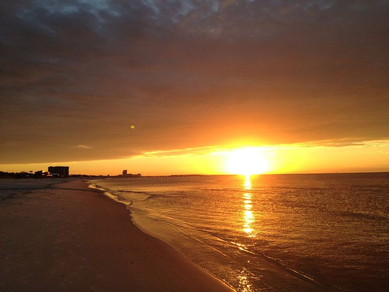 Wake up to this spectacular sunrise!