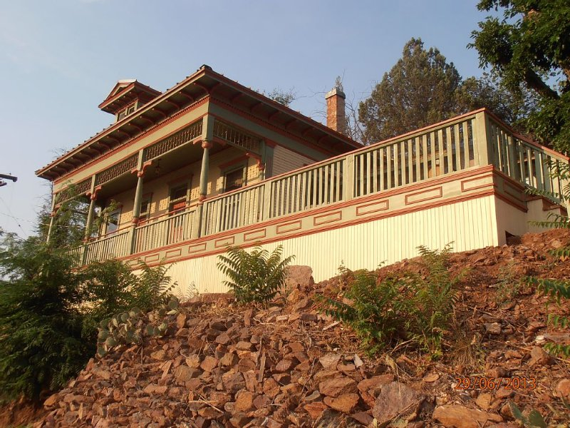 THE JOHN RIORDAN HOUSE. BUILT 1898.  VACANT, BURIED FOR 60 YEARS, RESTORED 2012, holiday rental in Jerome