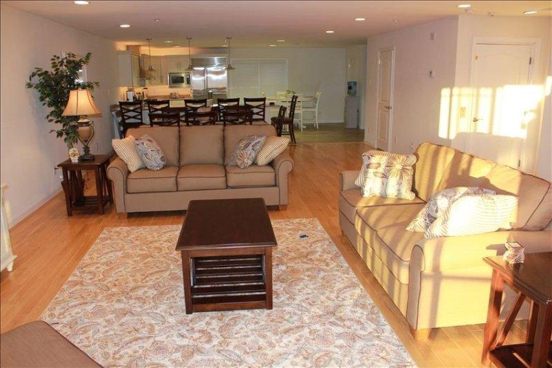 3rd floor Living Room - Dining Room - Kitchen