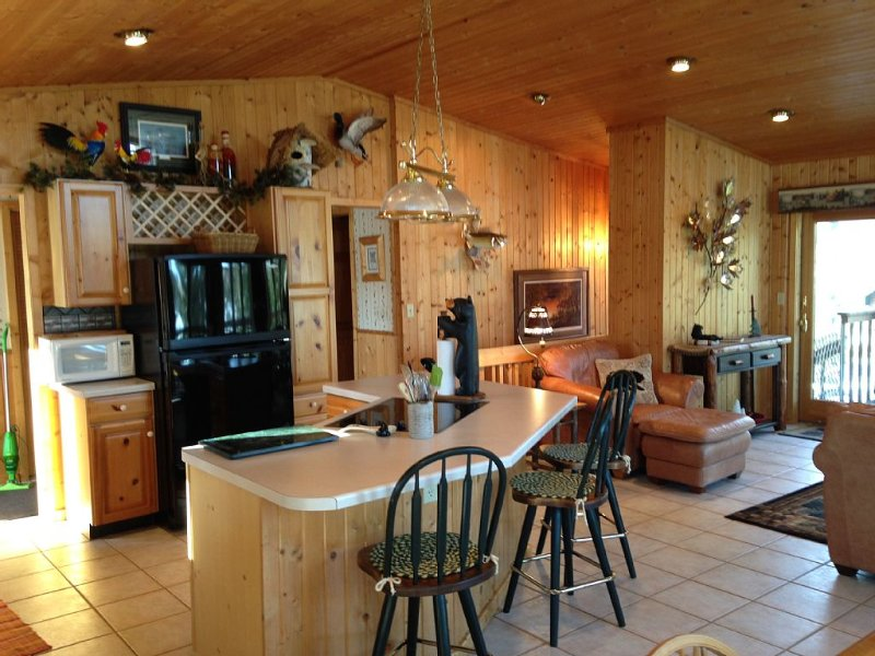 Amazing Waterfront Cabin on Placid Lake, casa vacanza a Hayward