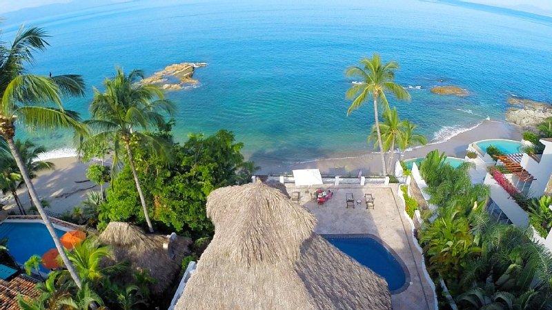 Puerto Vallarta's finest luxury beachfront rental villa, holiday rental in Puerto Vallarta