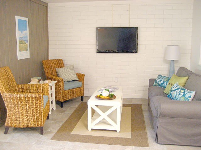 Hawksbill Suite, a large one bedroom efficiency at The Silver Sands – semesterbostad i Saint Augustine