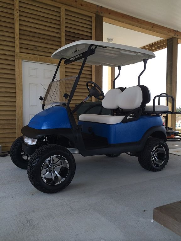 Inquire about optional use of the golf cart for your stay.