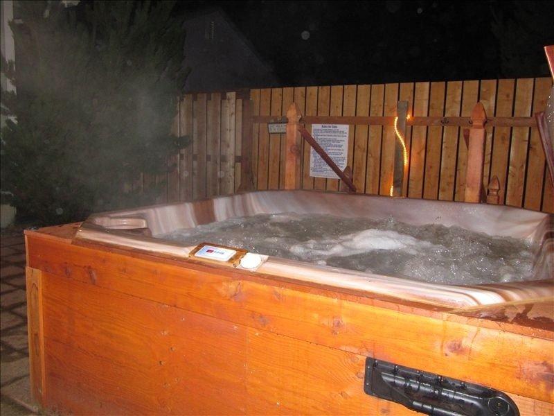 Private 4 person hot tub