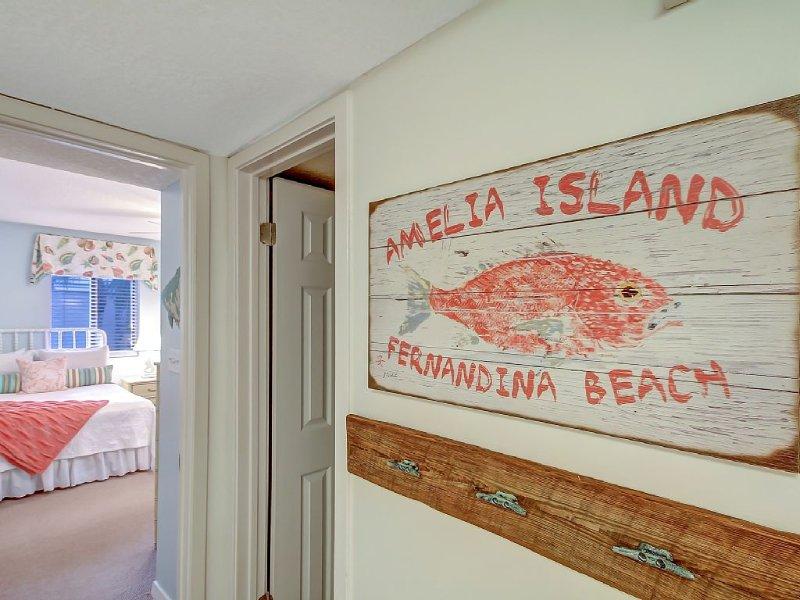 Location!  Location! Location!  Beach Wood Villa, holiday rental in Amelia Island