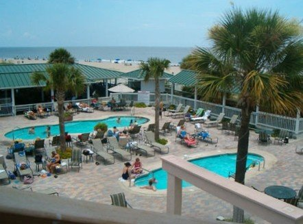 Great patio area for enjoying the Sun or the Shade - ON THE OCEAN!!