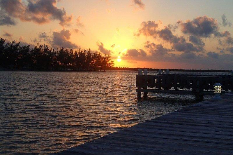 Sunset at Kaibo Dock