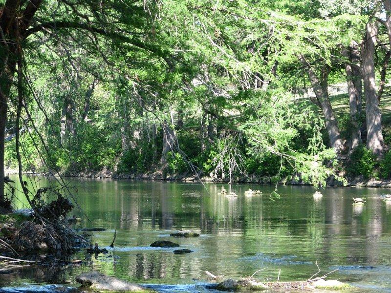 Treetop Retreat...Luxury Condo in the Treetops on the Guadalupe River, aluguéis de temporada em New Braunfels